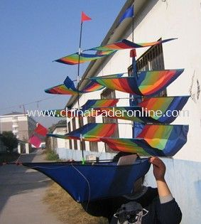 Ship kite (fiberglass frame)
