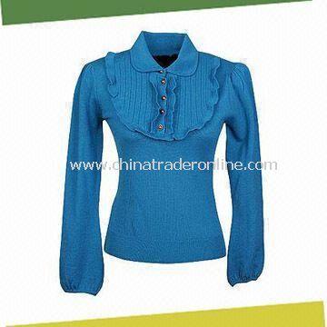 Womens Sweater, Made of 100% Merino Wool