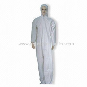 Breathable Coverall, Available in White