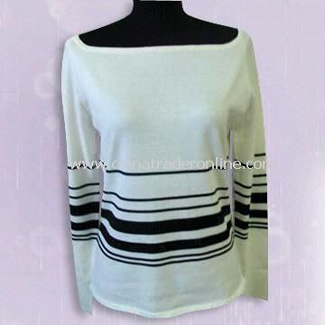 Ladies Sweater Made or Silk or Cotton