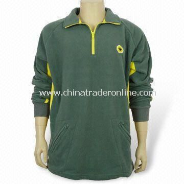 Sweatshirt, Made of 80% Cotton and 20% Polyester Materials with Hood
