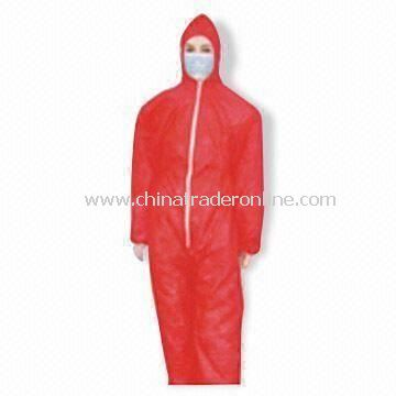 Coverall with Storm Flap
