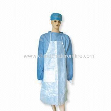 Nonwoven Apron, Customized Size Available