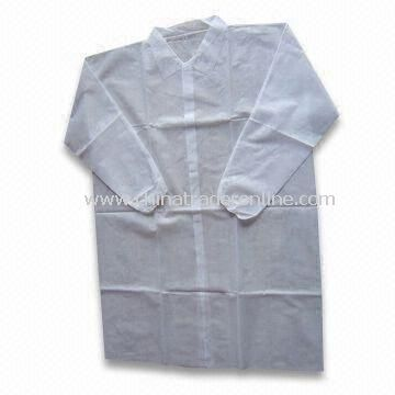 PP Lab Coat, Made of PP