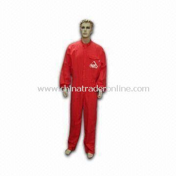 Cotton Coverall, Suitable for Workers, Protects and Keeps The Body Clean and Safe
