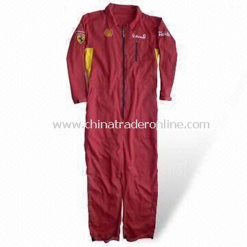 Coverall with Bib Pants, Made of 100% Cotton