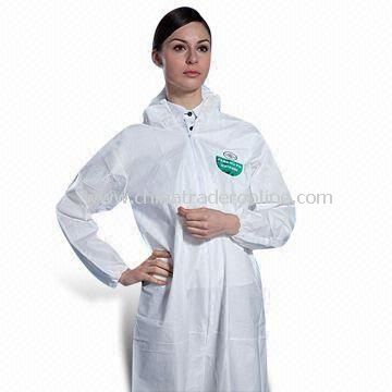 Disposable Surgical Gown, Nonwoven Protective Coverall, Various Sizes are Available