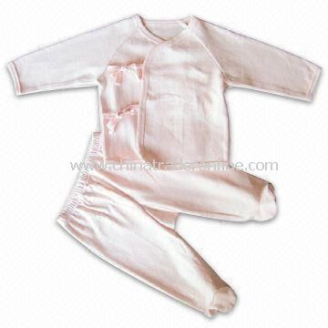 Long Sleeve Coverall, Made of 100% Organic Interlock 220g, Suitable for 3 to 6 Months