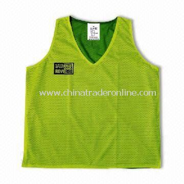 Safety Vest with Zipper, Made of Polyester, Available in Various Sizes
