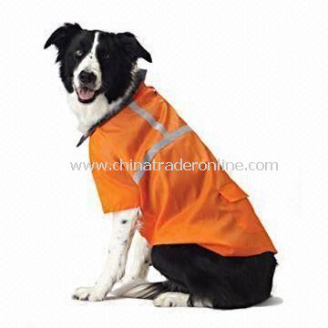 EN 471 Certified Reflective Safety Vest for Pets, High Visibility/Velcro or Zipper Front Closures