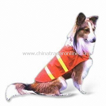 Safety Vest for Pets, Available with High Visibility and Normal/High Reflective Tape