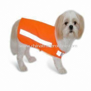 Safety Vest with High Visibility and Normal/High Reflective Tape, Suitable for Pets