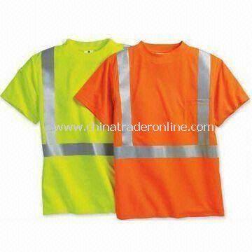 Safety Vests in Customized Colors, with Black Binding, Available in Various Sizes
