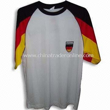 100% Polyester Sports T-shirt with Printing