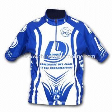 Bicycle T-shirt, Made of 100% Polyester