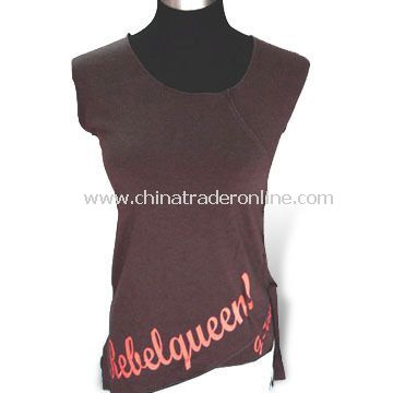 Casual T-shirt, Made of Cotton, Available in Various Sizes and Colors