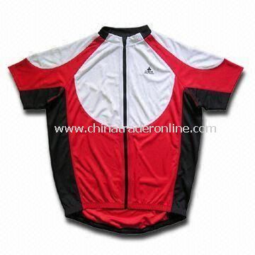 Cycling Wear T-shirt, Running Wear, Polyester Interlock, Moisture Wicking, OEM Orders Manufacturer from China