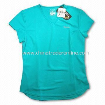 Sports T-Shirt, Made of 100% Polyester, Available in Various Colors
