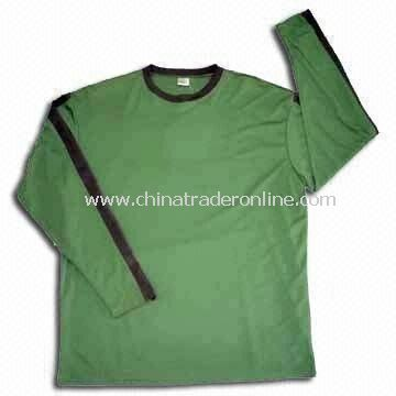 Sports T-shirt for Men, Made of 100% Polyester, Various Colors are Available