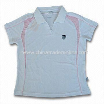 Womens Sports T-shirt, Made of 100% Polyester, Available in Various Colors