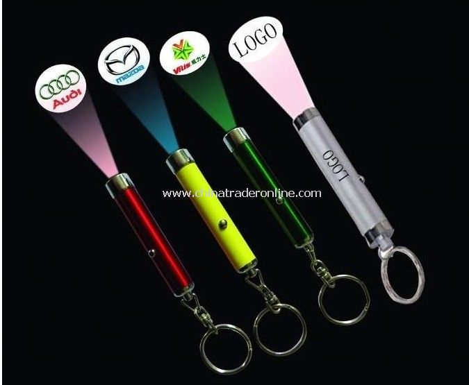 LED keychain,LED Torch, LED projector torch,Led logo projector torch ,led logo projector keychain from China