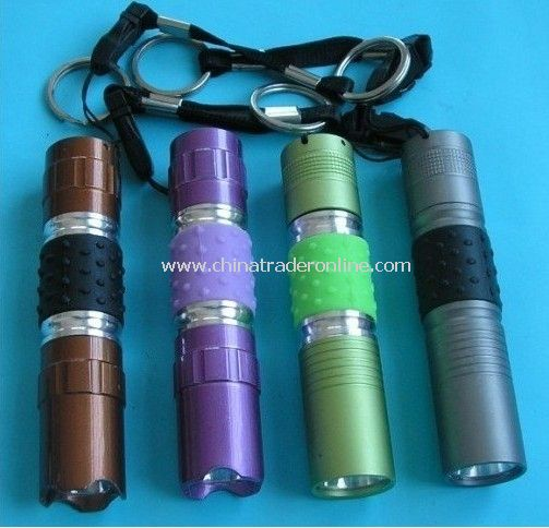 1 LED Flashlight Aluminium LED Torch Camping Flashlight