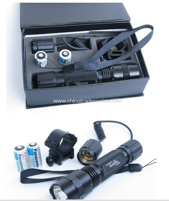 2011new INRE 3serise LED flashlight from China