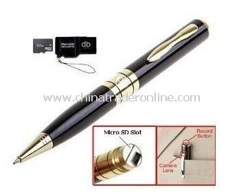 2GB/4GB/8GB video recorder camera pen digital video pen camera dvr