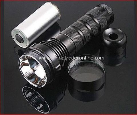 35/28W dual power 1440Lumens Rechargeable HID Flashlight