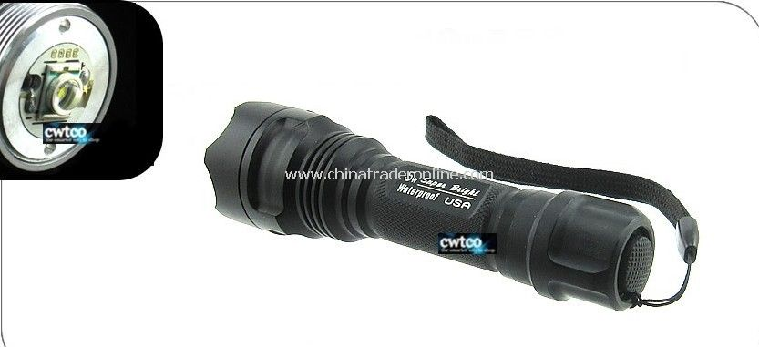 CREE LED 300 Lm 5W Torch Lamp K5 Fishing Flashlight