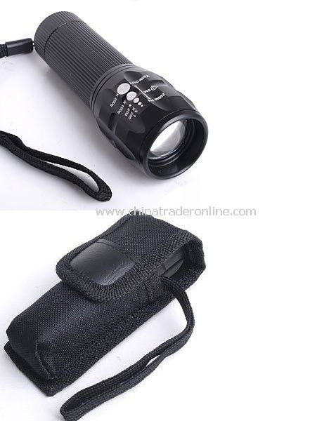 CREE Q5 LED 240 Lumen Zoomable Torch Flashlight