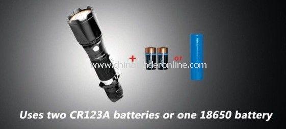 FENIX TK15 R5 - 337 lumens Long Beam Tactical/Hunting Flashlight