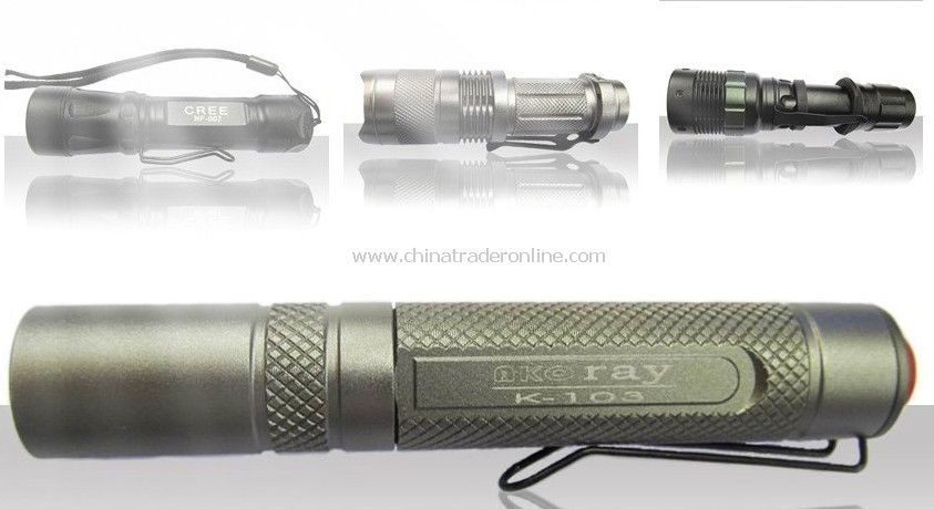 High Power LED Flashlight/Electric Torch (UItraFire C3 lengthening )