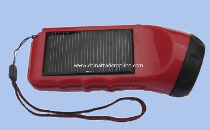 solar flashlight with CE ROHS
