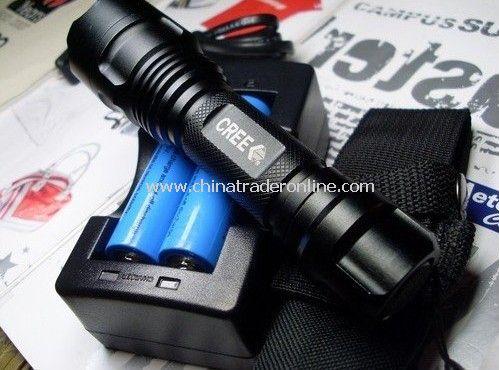 SureFire CREE LED Q5bulb Light flashlight chargeable portable flashlight