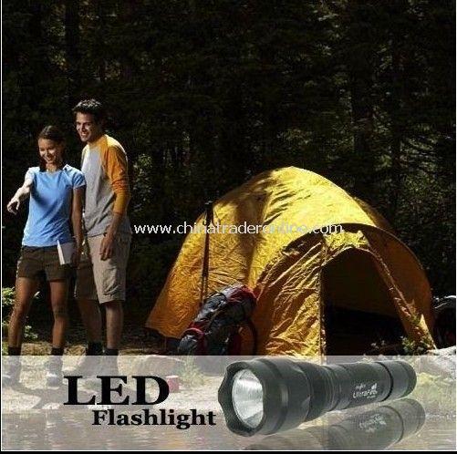 Ultrafire 502B Cree XML T6 1000 Lumen 5-Mode LED Flashlight from China