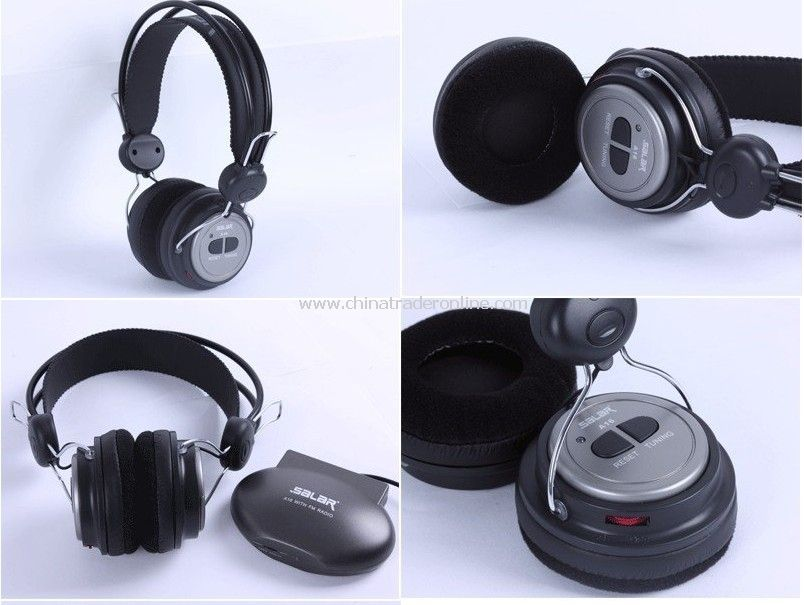 Wireless headset stereo headset, FM radio