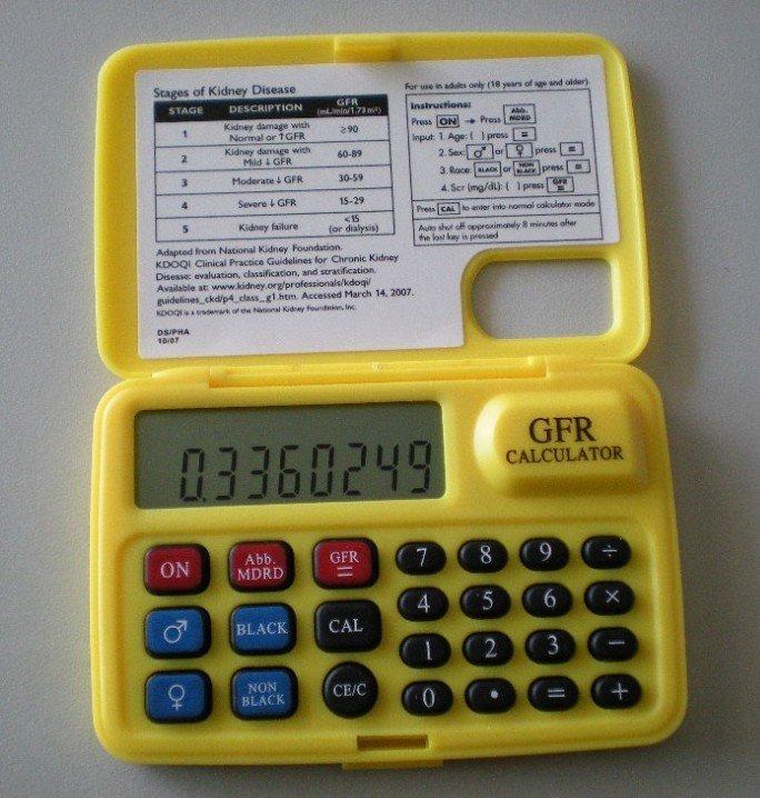 Gfr calculator
