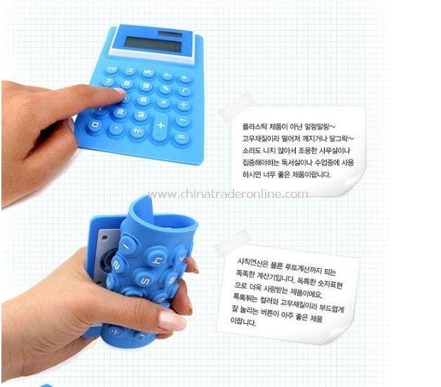 Calculator , fold Calculator , silicon calculator ,gift calculator