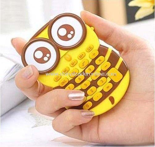 calculator owl calculator cartoon calculator portable calculator mini calculator gift calculator from China