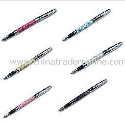 Classy Glitter Sparkle Fountain Pen