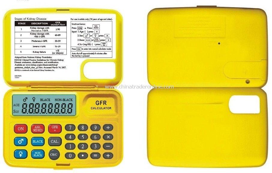 GFR Calculator,Glomerular filtration rate calculator