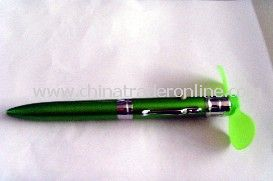 multifunction pen+free logo printing Fan pen ballpen