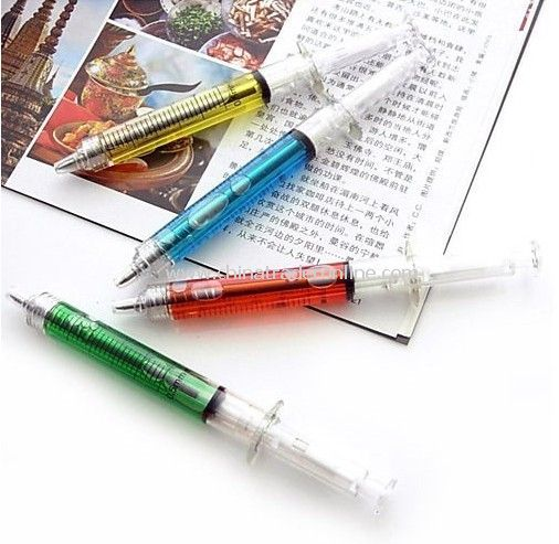 New syringe pen/Ball pen/ Fashion pen,ballpoint pen,gift ball pen,christmas gift,School Pen,novelty pen