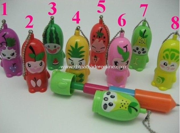 Newest Promotional novelty Pen,Fruit Pen for kids, Flexible Pen 50pcs from China
