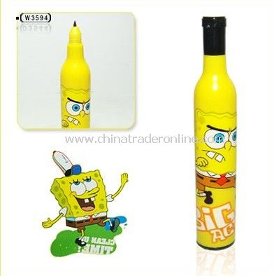 novelty pen,ballpoint pen,spongebob squarepants ball point pen,fashion pen