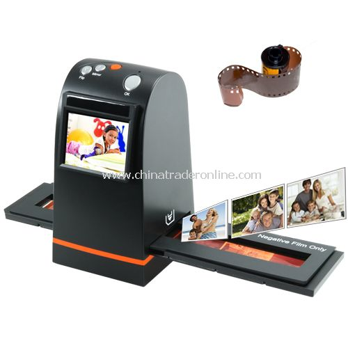 35mm Film Scanner with LCD and SD Card Slot (Stand Alone Model) - No Computer Needed
