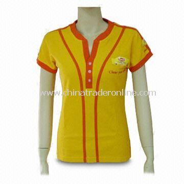 Promotional Womens T-shirt, Available in Different Colors and Sizes from China