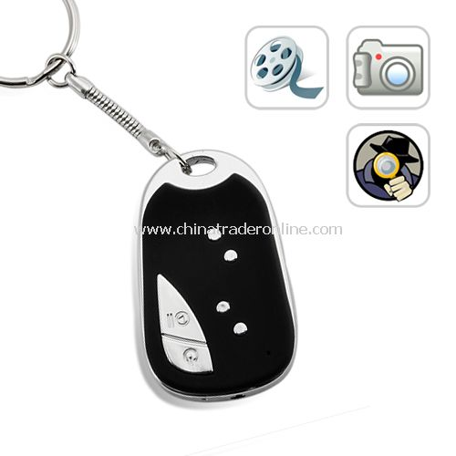 (4GB,30FPS) DVR Spy Camera - Keychain Car Alarm Remote Style