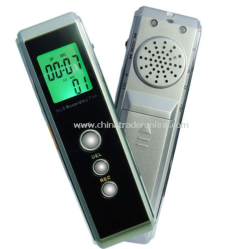 128MB Spy Recording Device - Voice + Telephone Recording